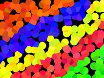 Many-coloured balls Royalty Free Stock Photos