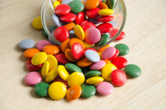 Many colourful  candy Royalty Free Stock Photos