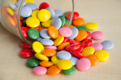 Many colourful  candy Royalty Free Stock Photography