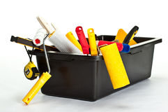 Many construction tools Royalty Free Stock Image