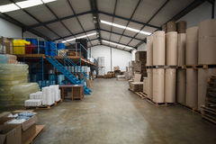 Many containers and plastic packaging Royalty Free Stock Photography