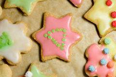 Many cookies Royalty Free Stock Photos