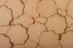Many cookies as background Stock Photography