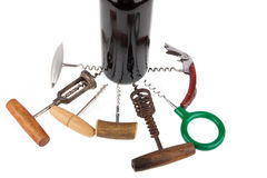 Many Corkscrews Royalty Free Stock Photos
