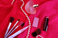 Many cosmetics Stock Photos