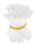 Many cotton ear swabs in a bunch Royalty Free Stock Photo