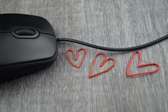 Love in the office Stock Image