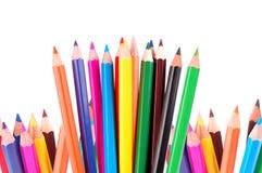 Many crayons Stock Image