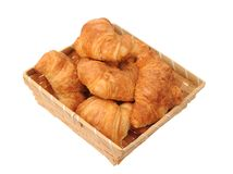 Many croissants Stock Images
