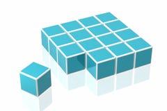 Many Cubes Stock Photos