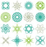 Many decorative elements,  Stock Image