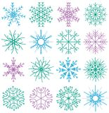 Many decorative elements Stock Image
