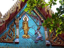 Religious Thailand Roof royalty free stock images