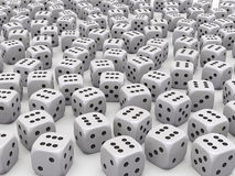 Many Dice stock photography