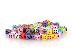 Many dices Royalty Free Stock Photography