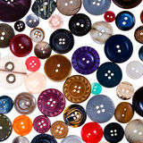 Many different buttons Royalty Free Stock Photography