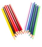 Many different colored pens Royalty Free Stock Photography