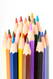 Many Different Colorful Pencils Royalty Free Stock Images