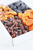Many different dried fruits Stock Photos