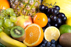 Many different exotic fruits Royalty Free Stock Photo