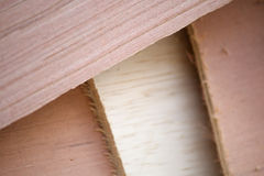 Many Different Piece of Wood at the Construction Site Royalty Free Stock Image