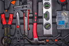 Many different tools Stock Photos