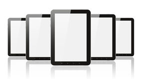 Many digital tablet pc Stock Photo