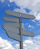 Many directional signs Stock Photos