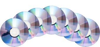 Many discs Stock Image