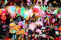 Many Doll Keychain. Royalty Free Stock Photo