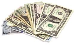 Many Dollar banknotes Royalty Free Stock Photo