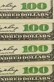 Many dollar bills Royalty Free Stock Images