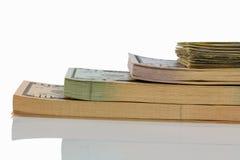 Many dollar bills Royalty Free Stock Image