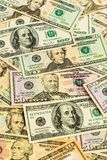 Many dollar bills Royalty Free Stock Images