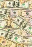 Many dollar bills Royalty Free Stock Photography