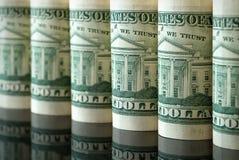 Many dollars Stock Photography
