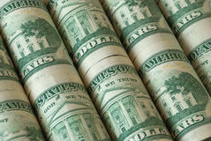 Many dollars Royalty Free Stock Photography