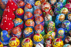 Many dolls Royalty Free Stock Photo