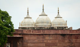 Many domes at Agra Fort in Agra, India Stock Images