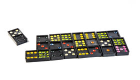 Many domino isolated Stock Images