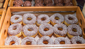 Many of donuts in a box Royalty Free Stock Image