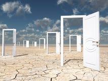 Free Many Doors Stock Photo - 25425630