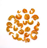 Many dried shrimp Royalty Free Stock Photography