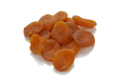 Many dry apricot Royalty Free Stock Photography