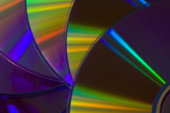 Many DVD Royalty Free Stock Images
