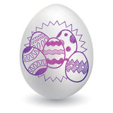 So many Easter Eggs Royalty Free Stock Photos