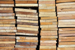 Many Edging Board in Stacks. Royalty Free Stock Photo