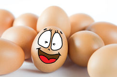 Many eggs Royalty Free Stock Images