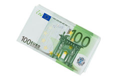 Many Euro Banknotes. Of the European Union Royalty Free Stock Image