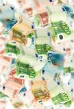 Many Euro notes Royalty Free Stock Photos